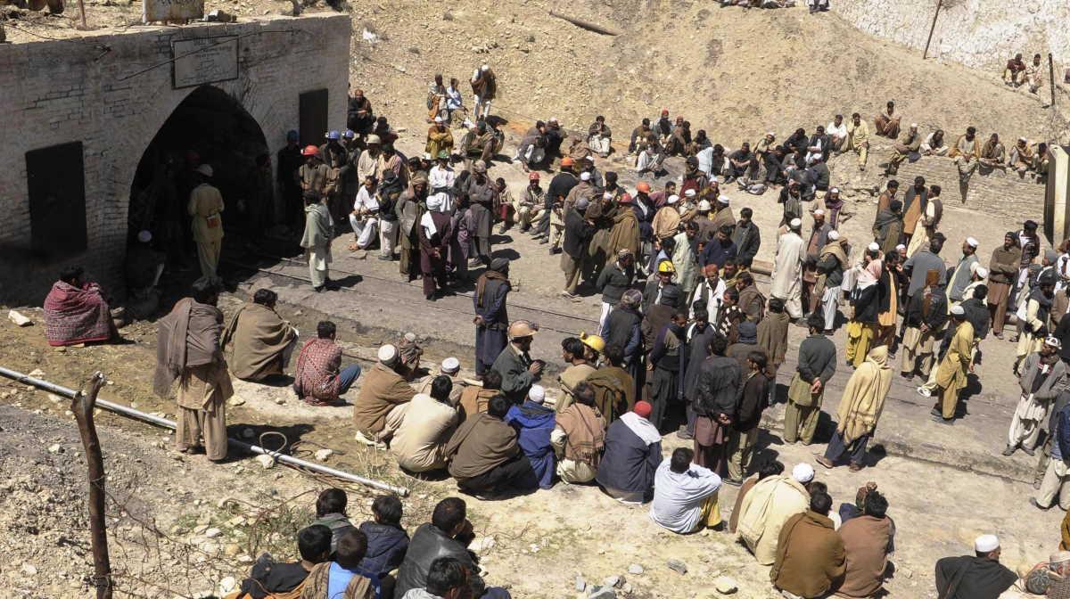 Balochistan mine