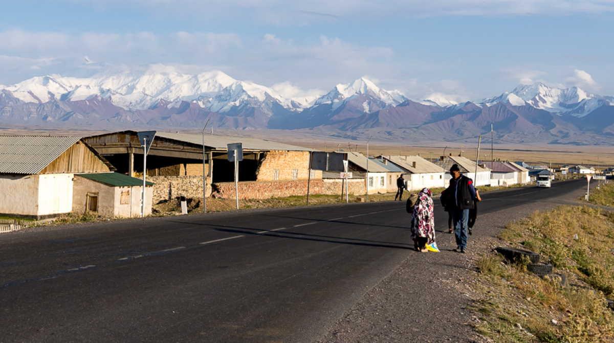 China Kyrgyzstan border