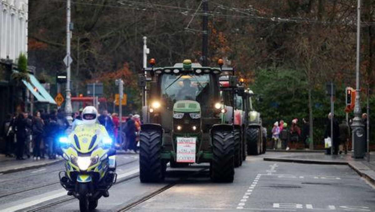 Dublin tractor protest