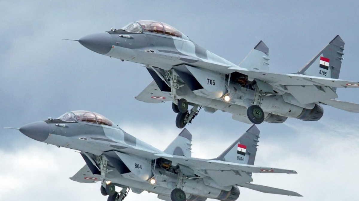 Egypt fighter plane