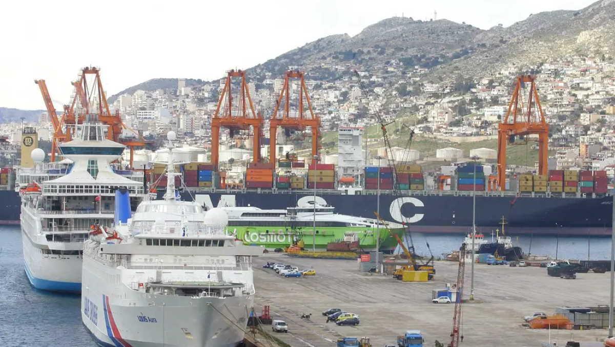 Greece port