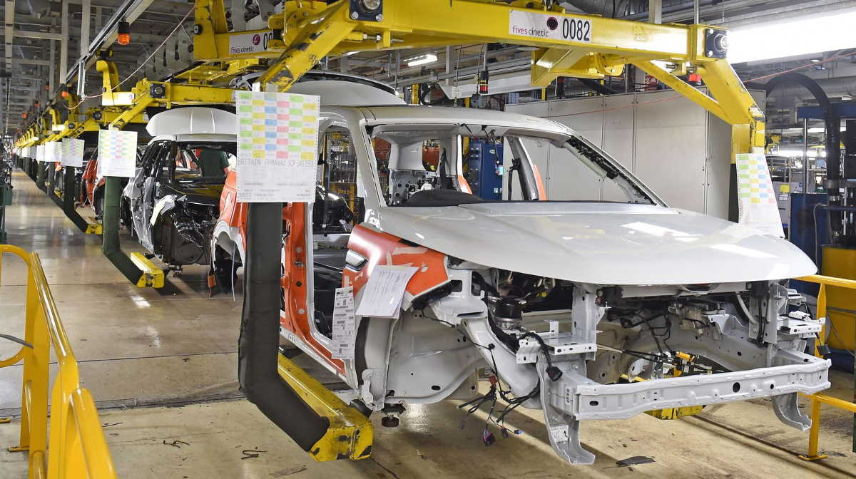 Jaguar Land Rover Halewood factory