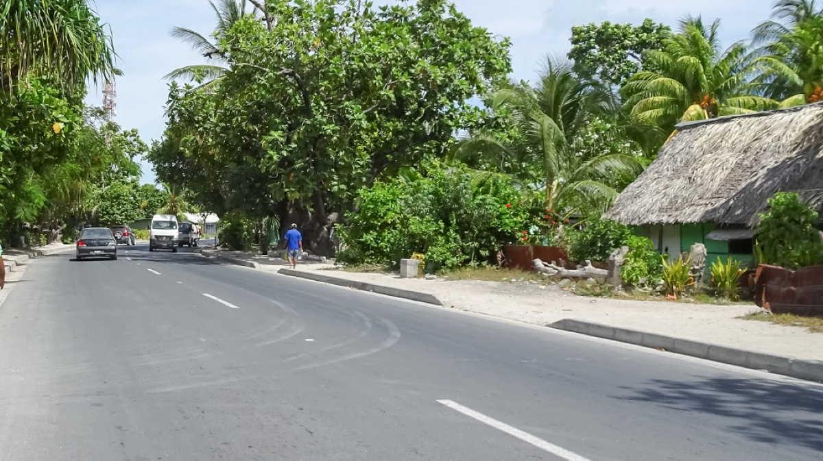 Kiribati street