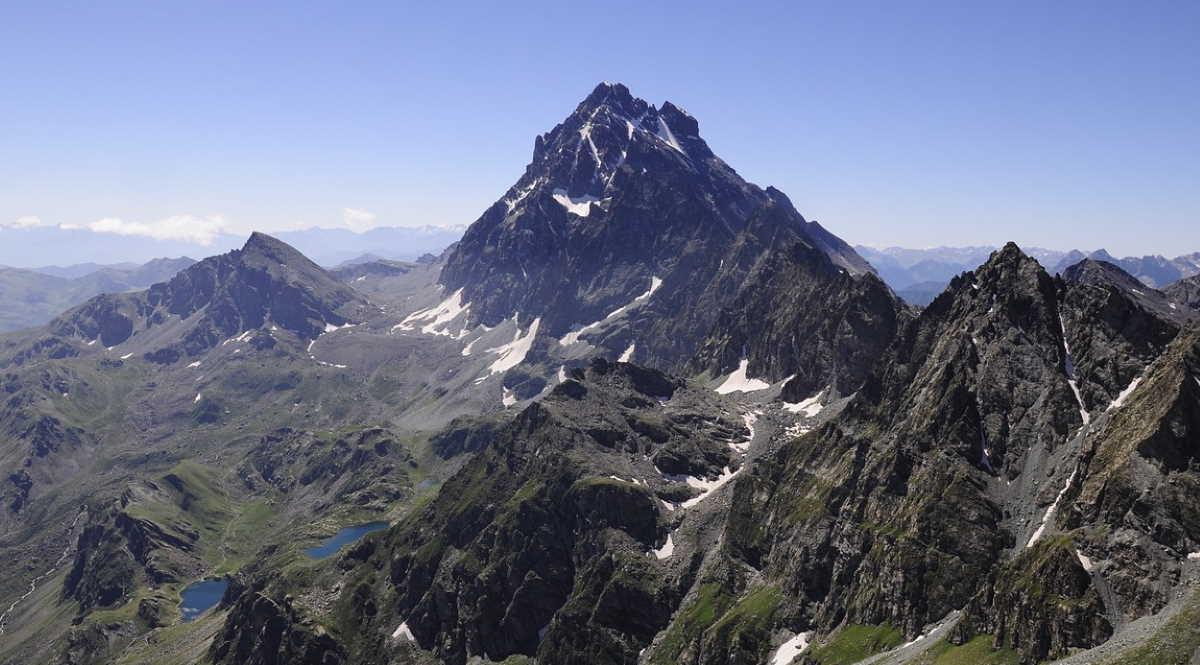 Mountain Monviso