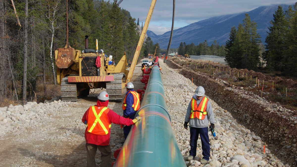 Trans Mountain pipeline Kinder Morgan