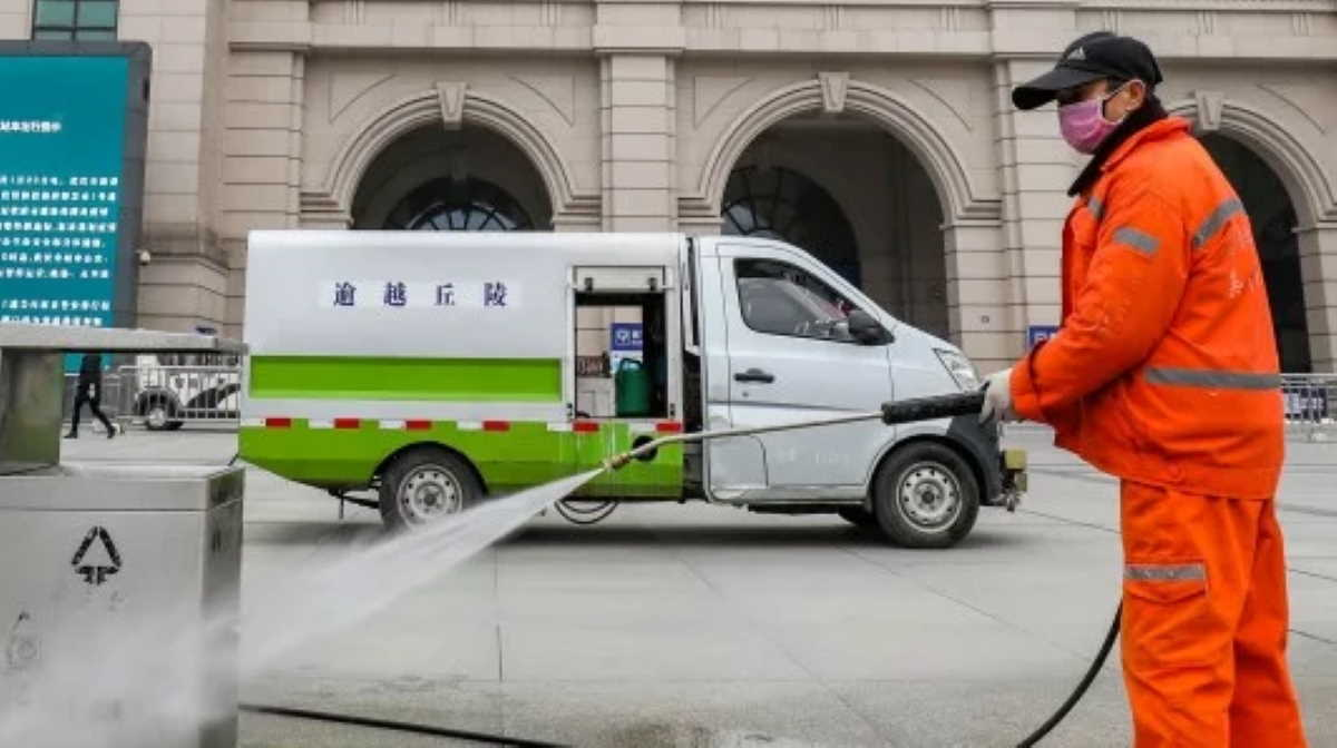 Wuhan cleaning