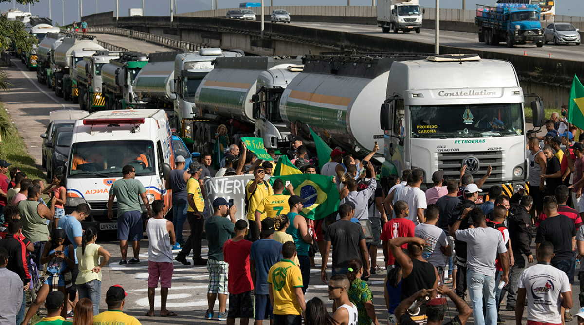 Brazilian truckers