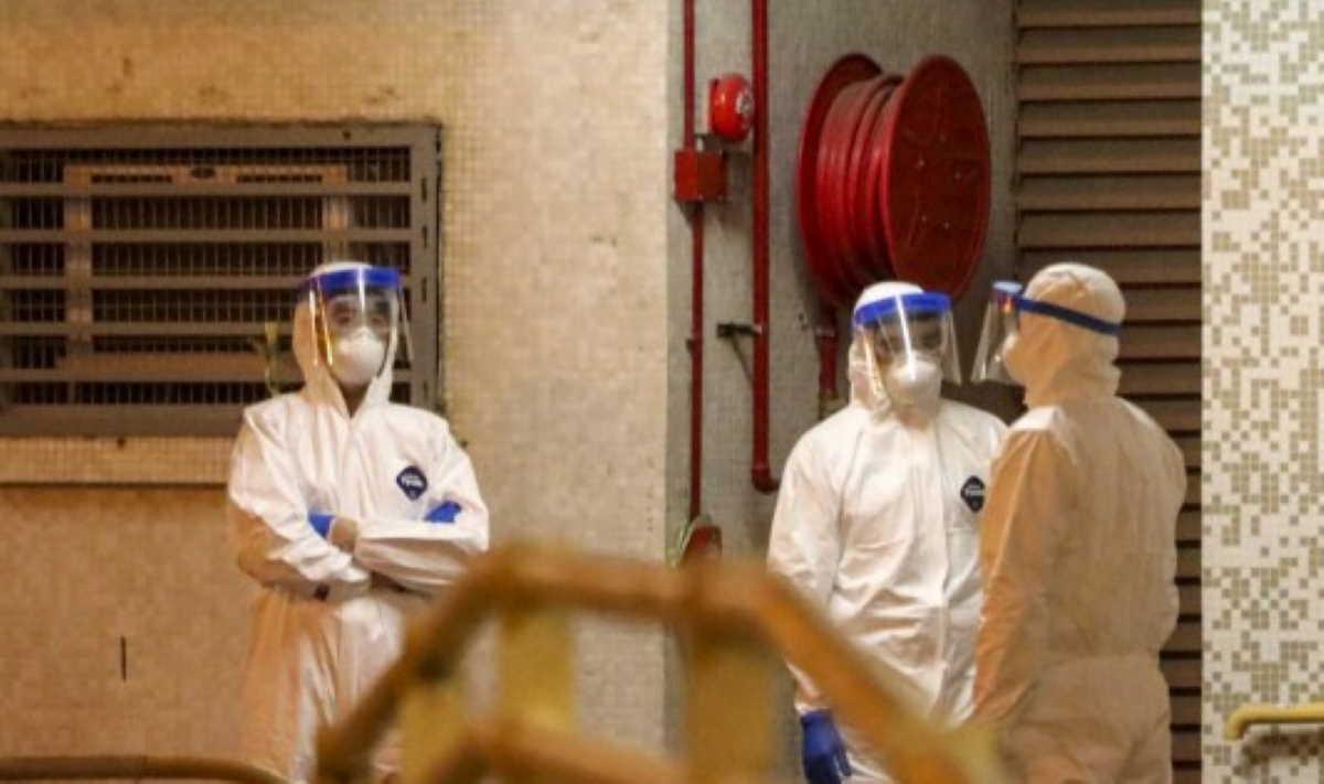 panic in hong kong  wuhan coronavirus spread through pipes