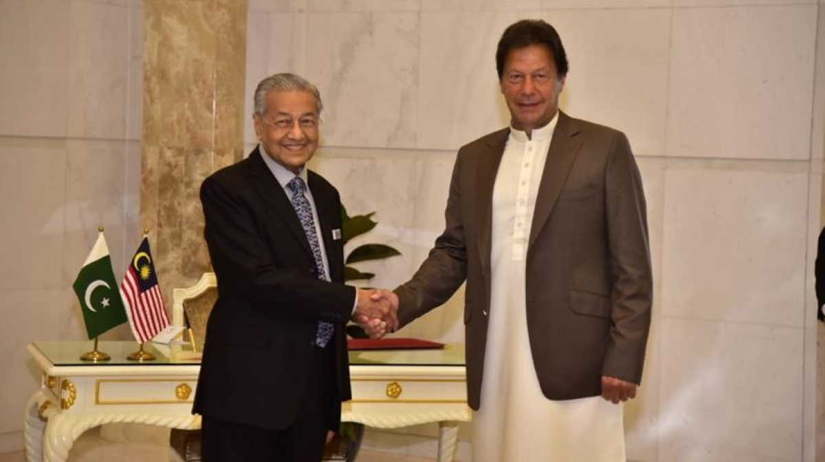 Imran Khan and Mahathir Mohamad