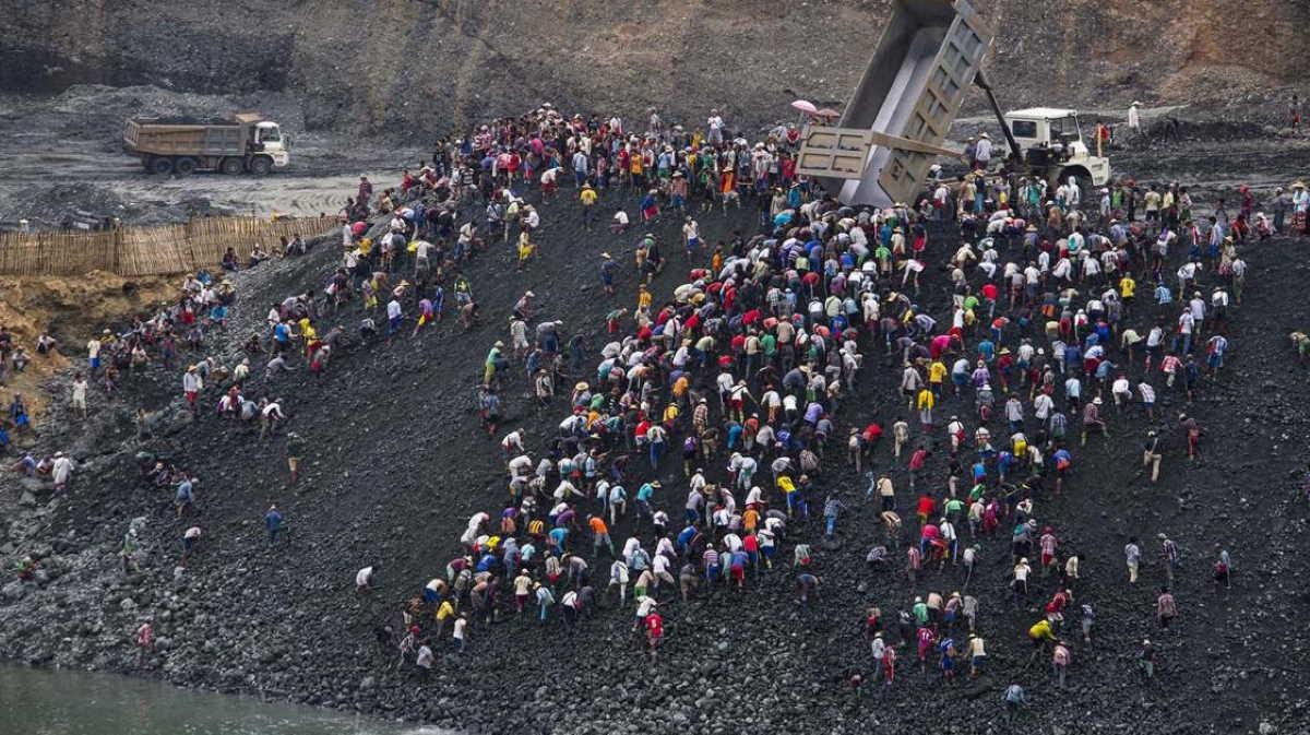 Myanmar mine