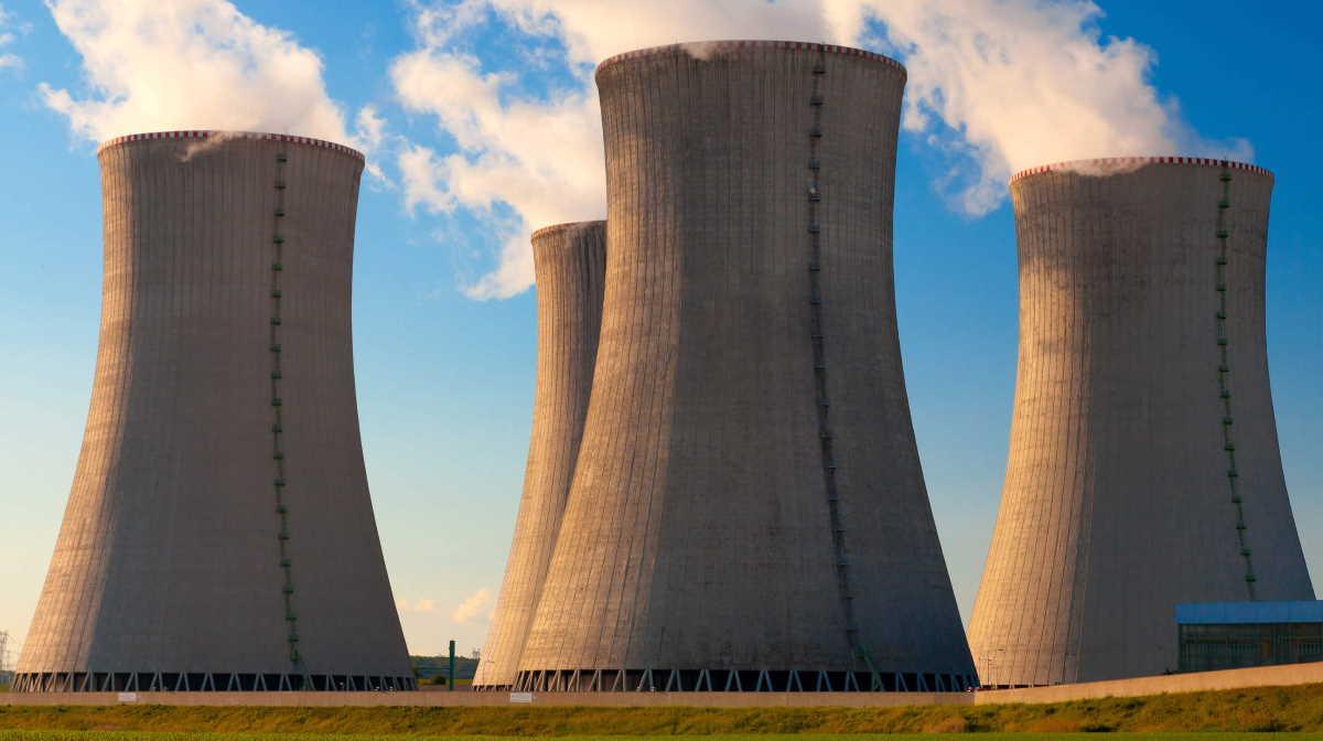 UK energy plant