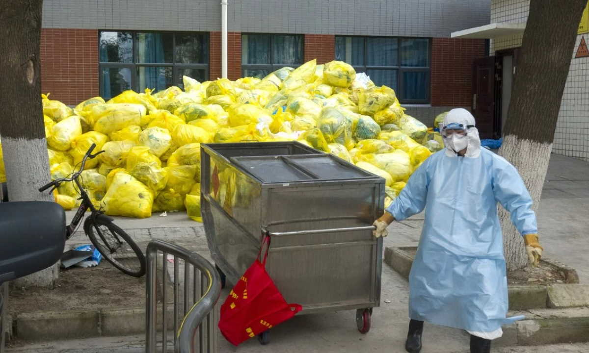 China medical waste