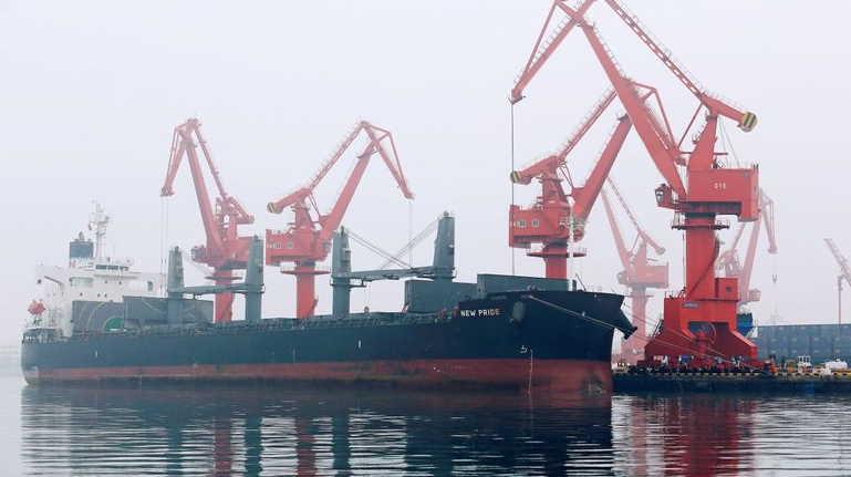 China port ship