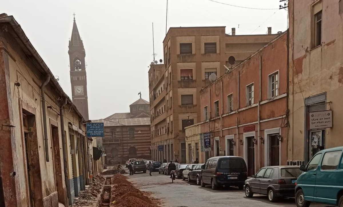 Eritrea street