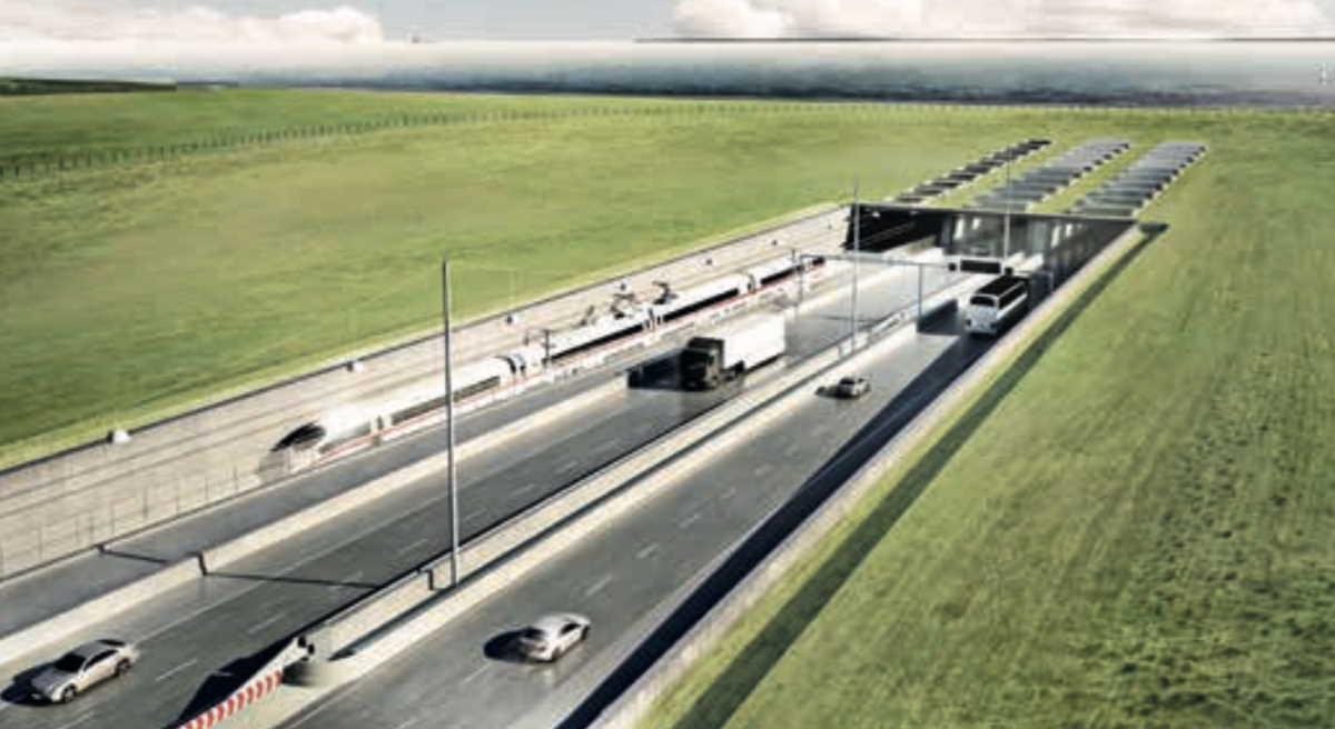Fehmarn Belt tunnel