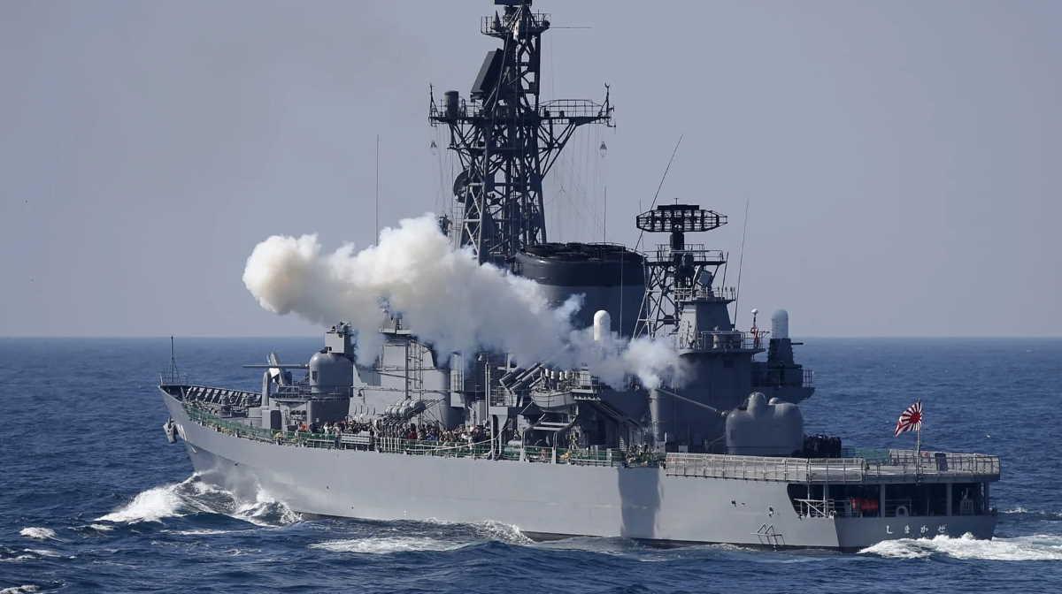 Japanese destroyer