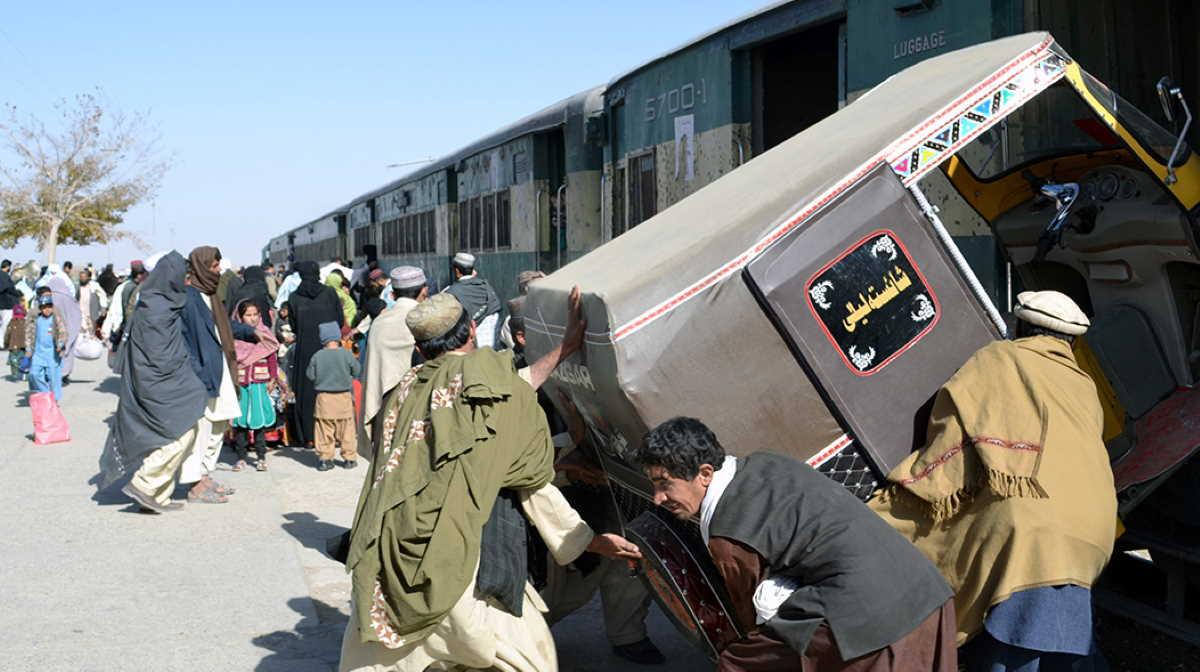 Pakistan Chaman border