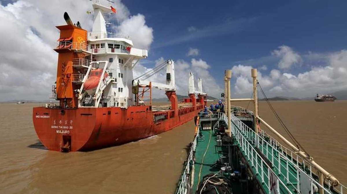 Sinopec ship