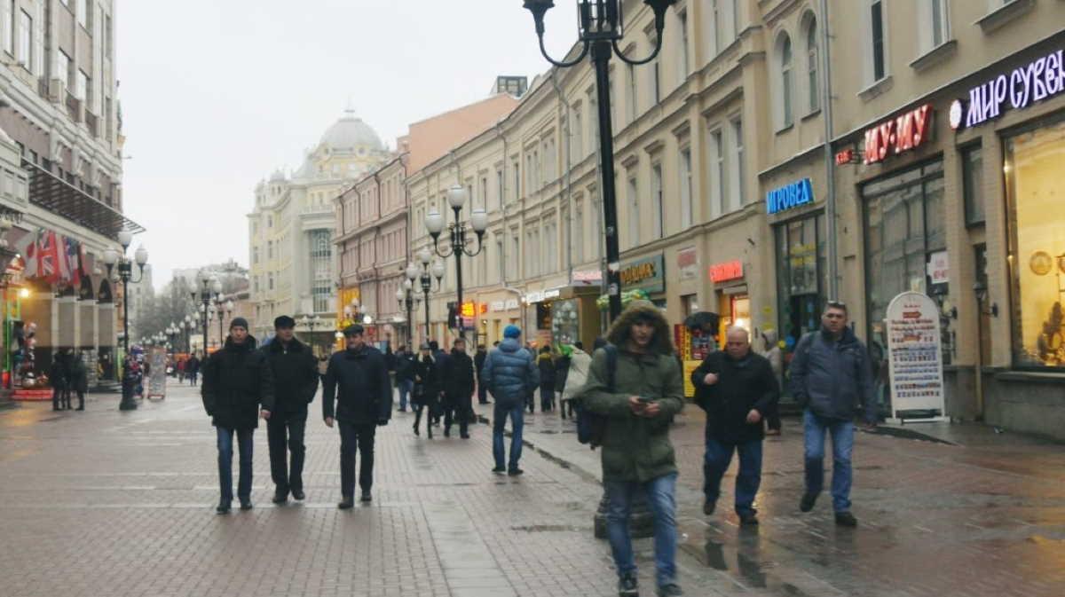 Street in Russia