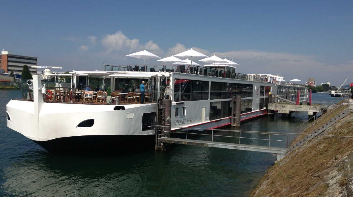 Switzerland river boat