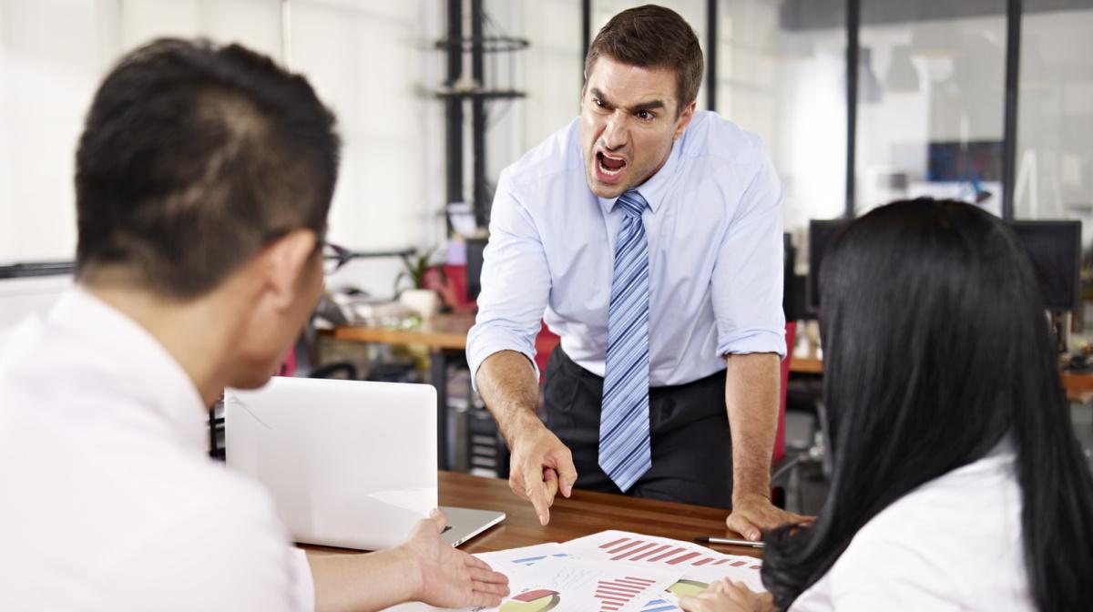Workplace yelling