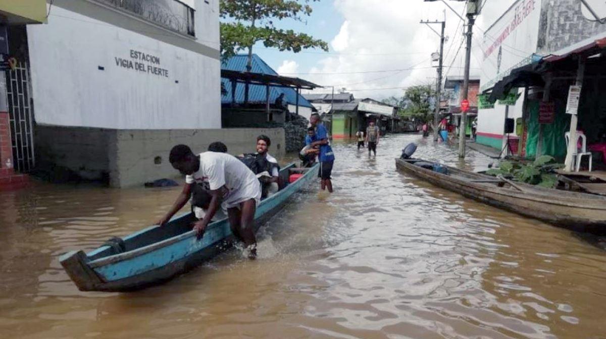 April floods Colombia