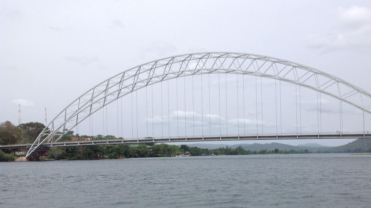 Ghana steel bridge