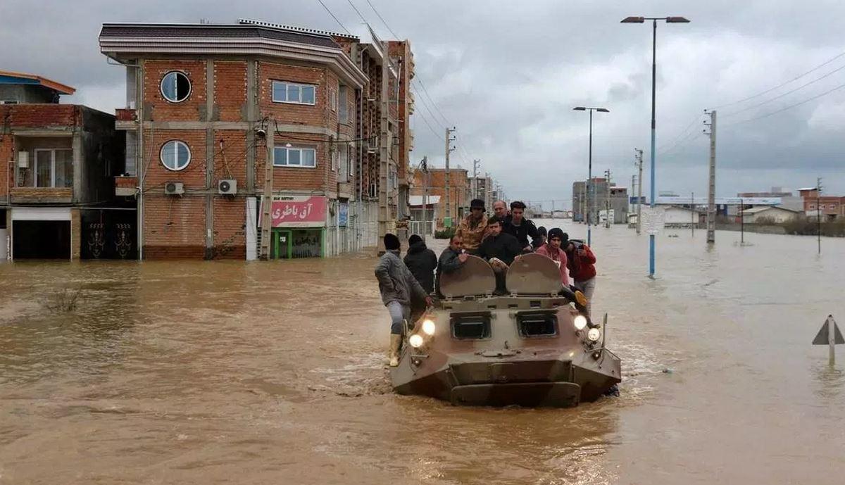 Iran thanks countries that sent humanitarian aid to flood victims
