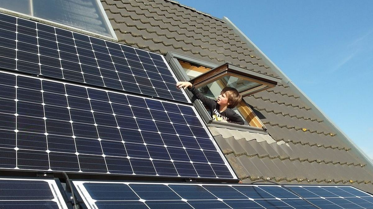 Netherlands solar panel