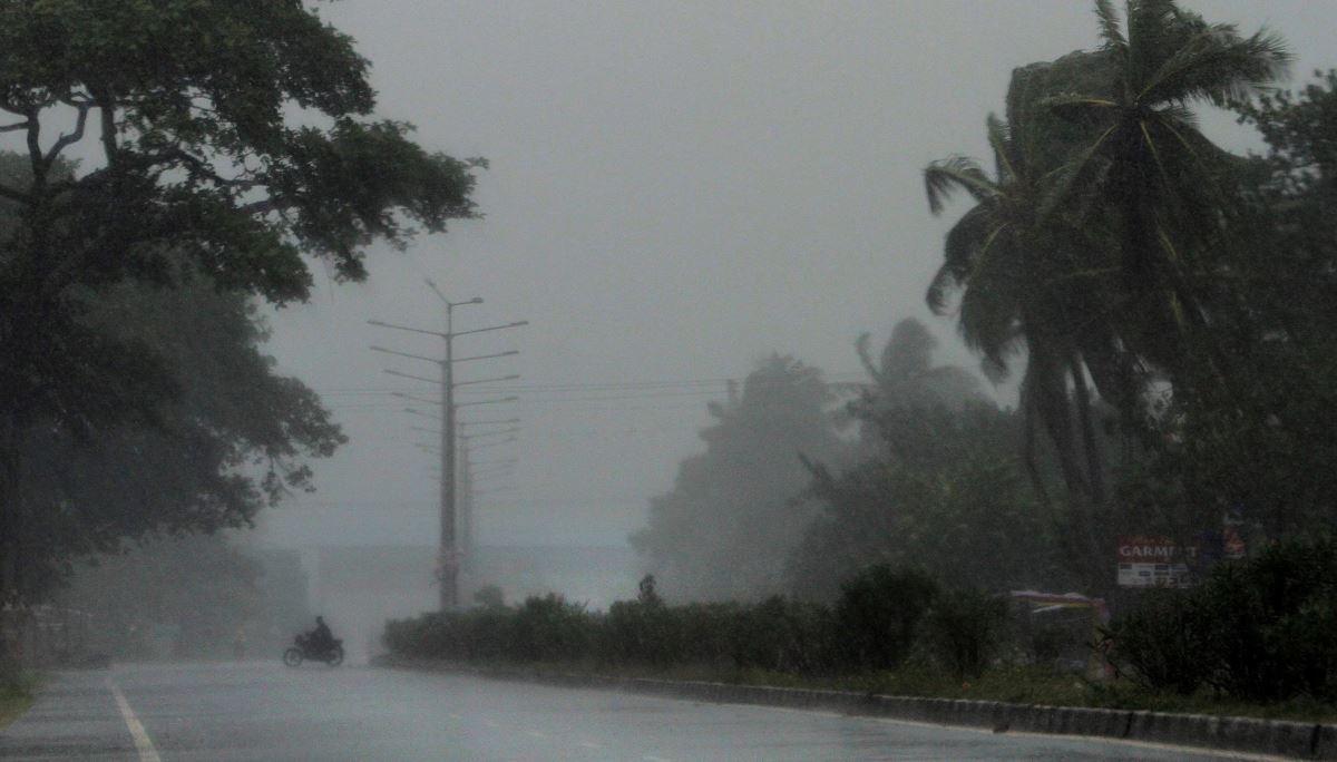 Cyclone Fani approaching Bangladesh