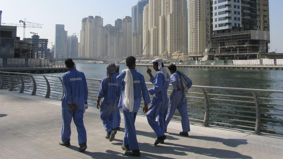 Dubai workers