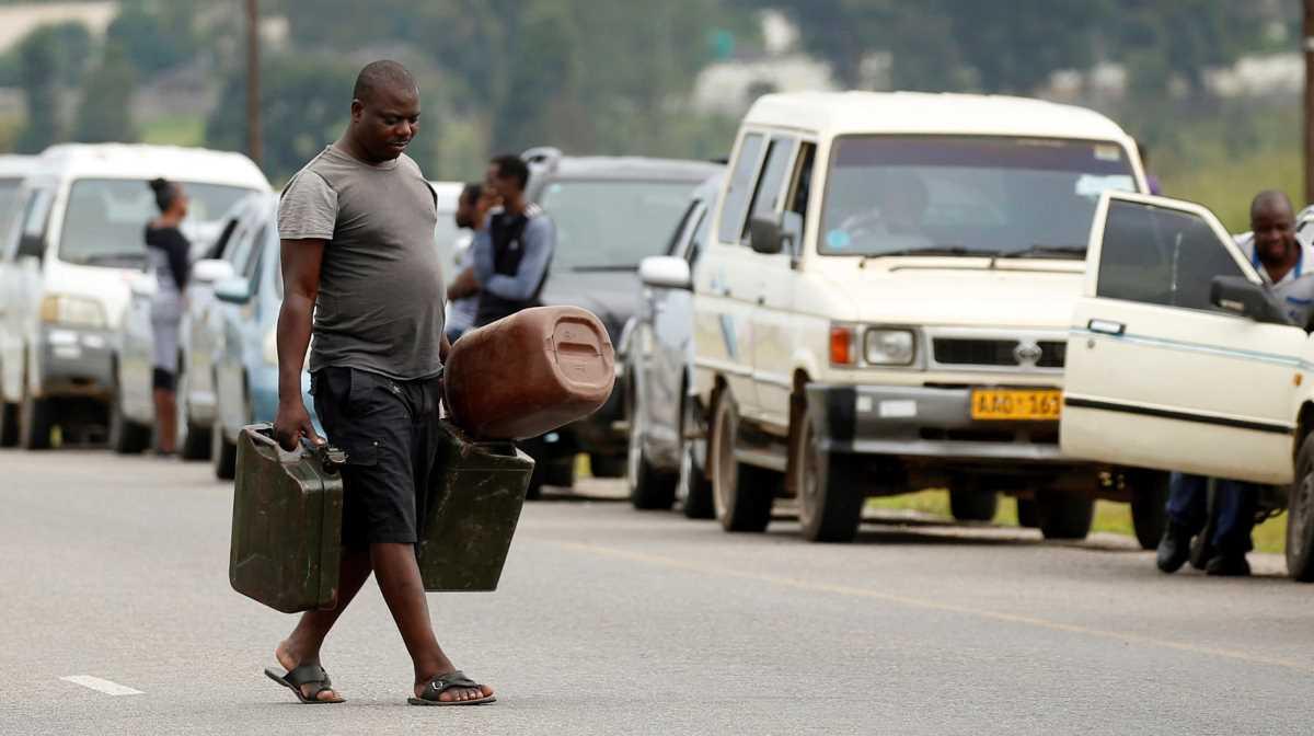 Zimbabwe fuel prices