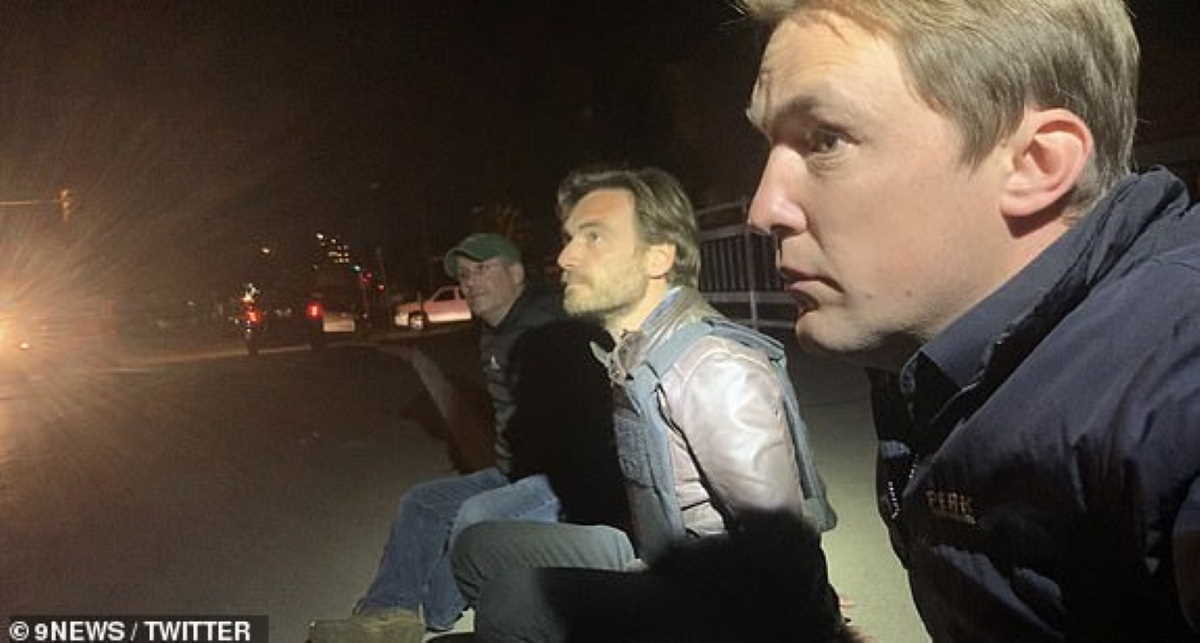Arrested reporters