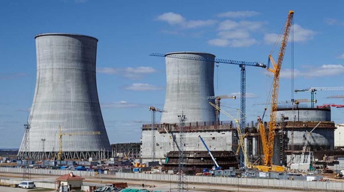 Belarusian nuclear plant