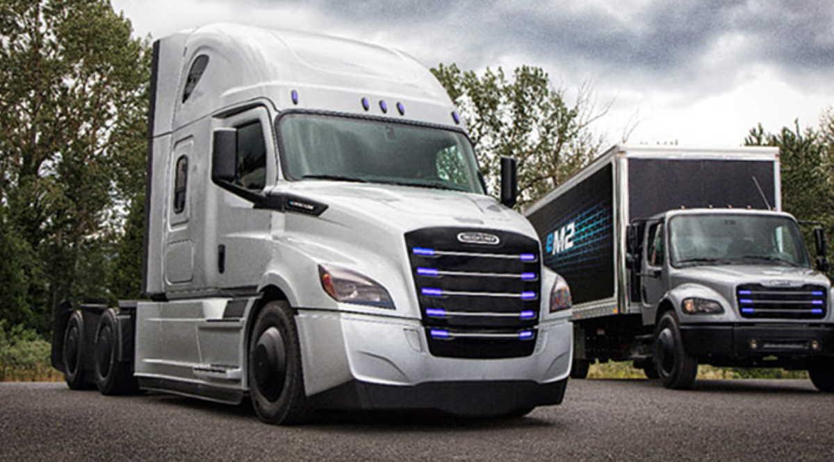 California electric truck