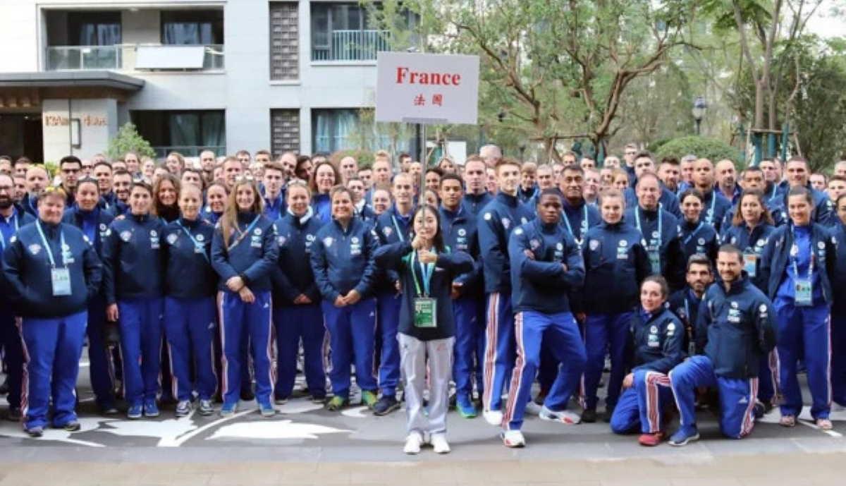 French athletes