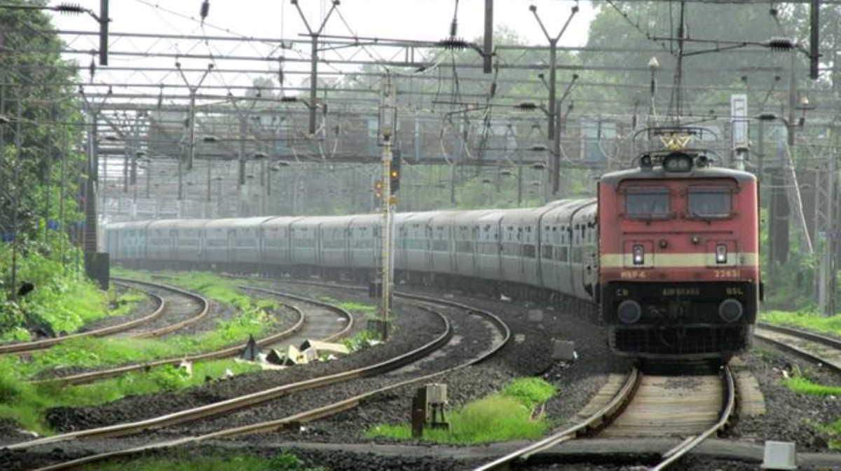 India railway train