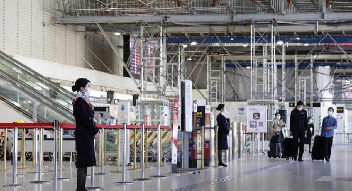 Japan border control