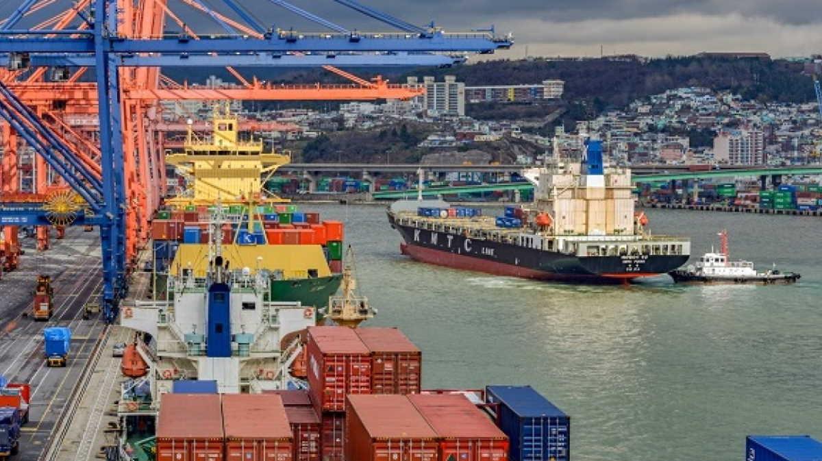 Korea port