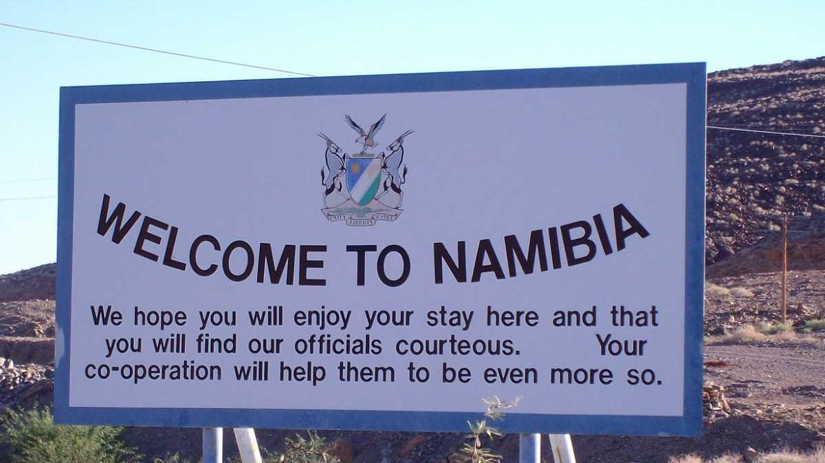 Namibia border