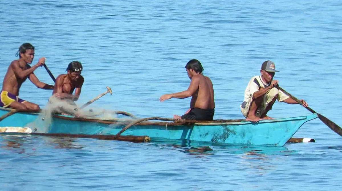 Philippines fisherman