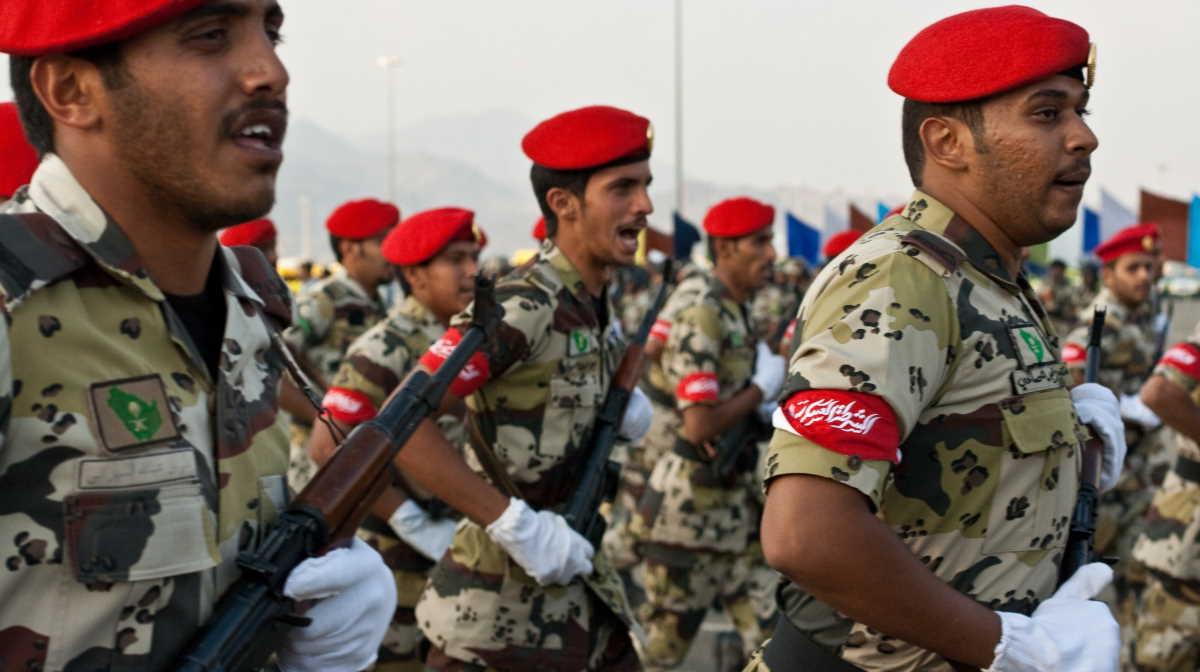 Saudi Arabia army