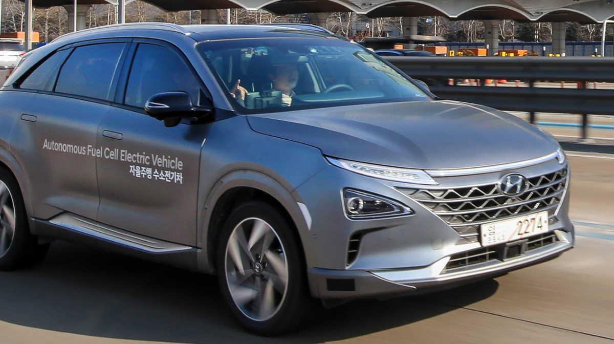 South Korea hydrogen cars