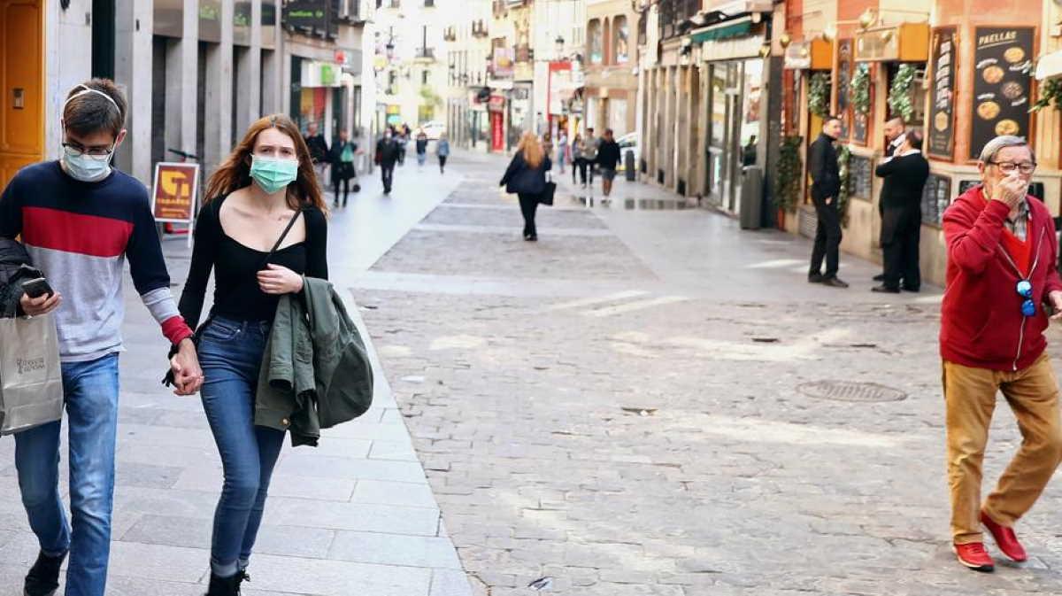 Spain streets people