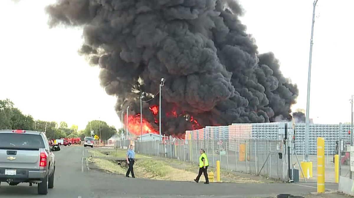 Stockton fire