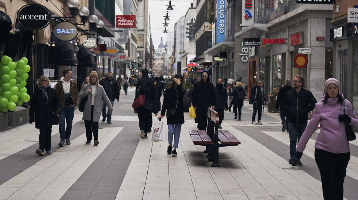 Sweden streets people