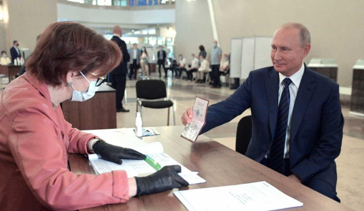 Vladimir Putin vote