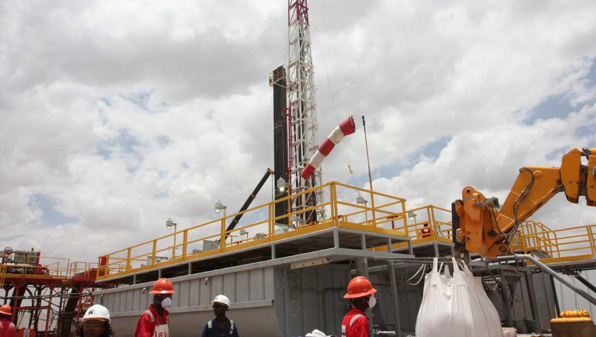 Kenya oil field