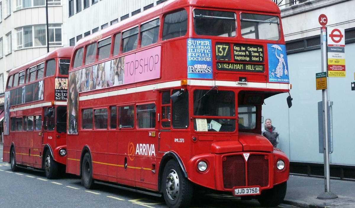 Old UK bus