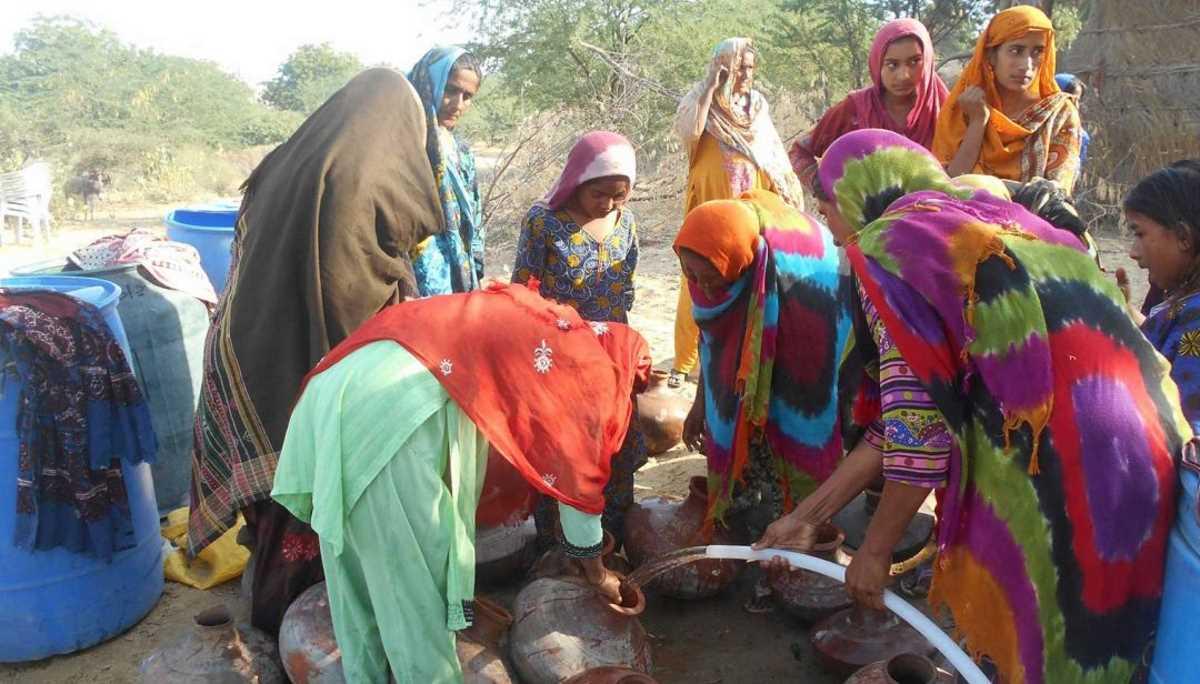 Pakistan water